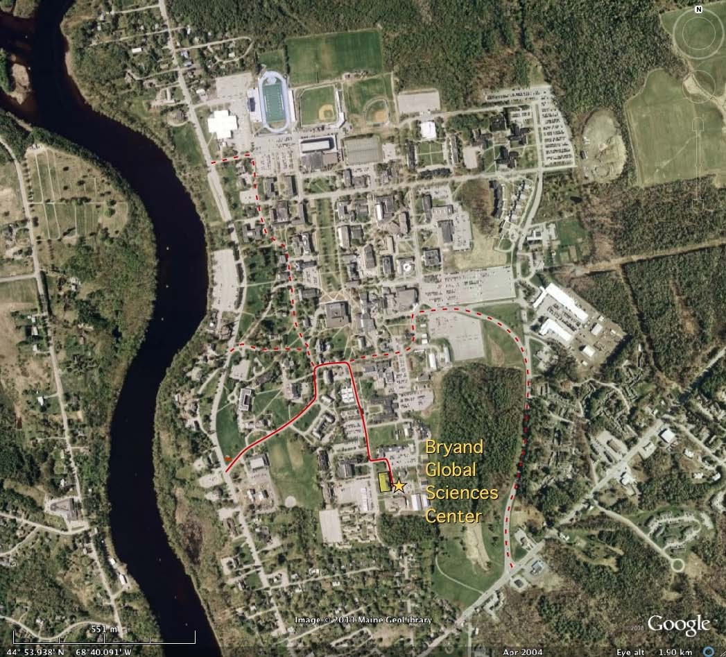 Umaine Campus Map Pdf.The Geological Society Of Maine